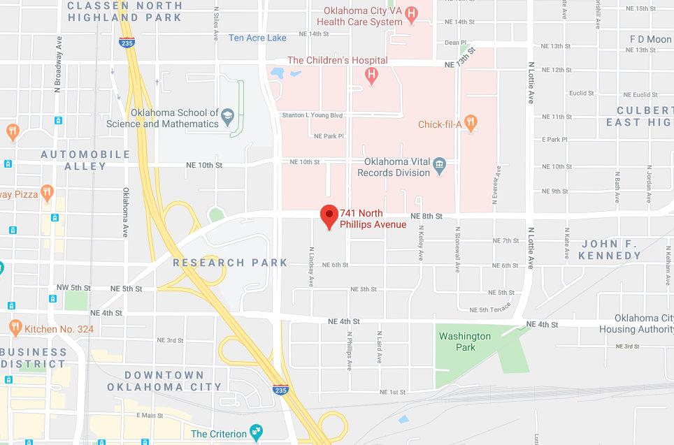Google Maps image of Tech Forum location